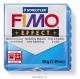 Пластика (запекаемая в печке) Fimo effect полупрозрачный синий брус 56 г 8020-374